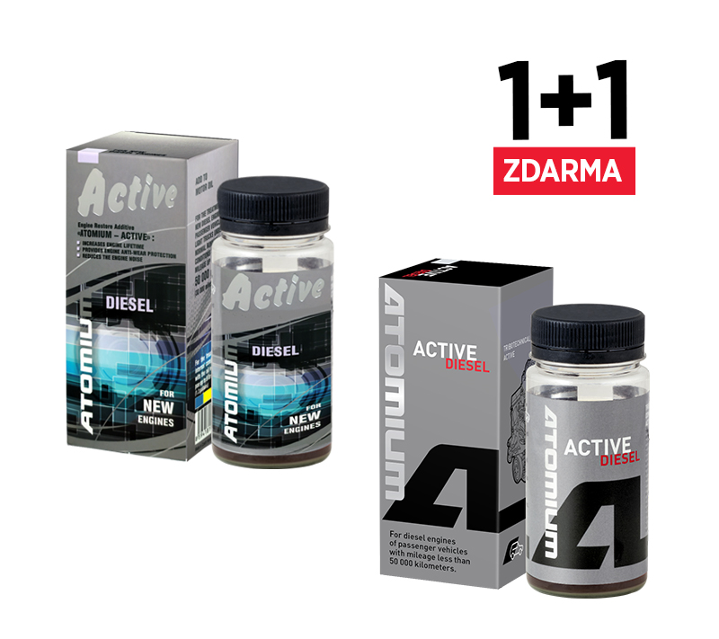 Atomium Active Diesel New 90 ml + zdarma Atomium Active Diesel new 90 ml
