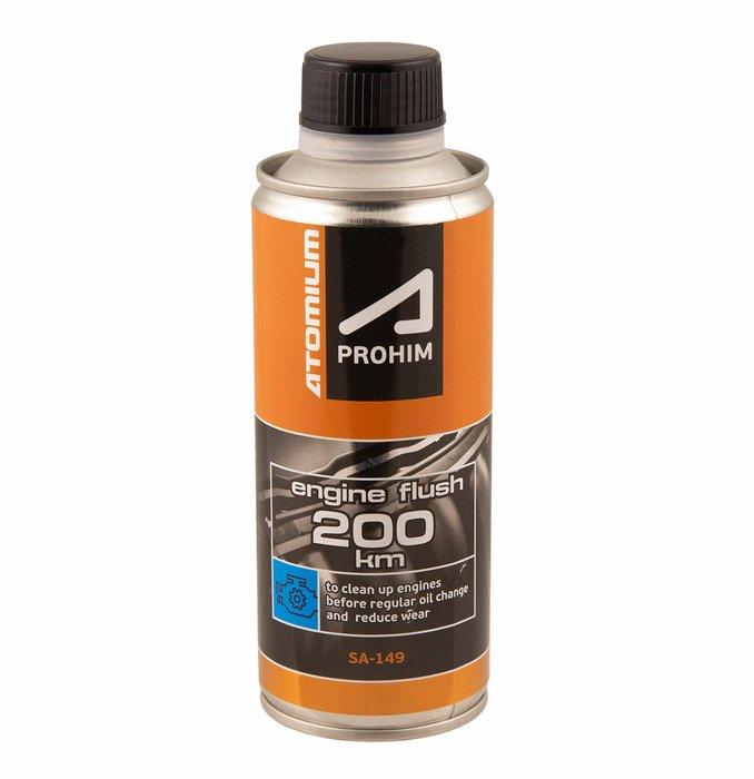 PROPLACH MOTORU ATOMIUM APROHIM ™ .Atomium Aprohim Engine flush 200 km – Dlouhodobé měkké proplachování systému motorového oleje, pro všechny typy motorů, 285 ml