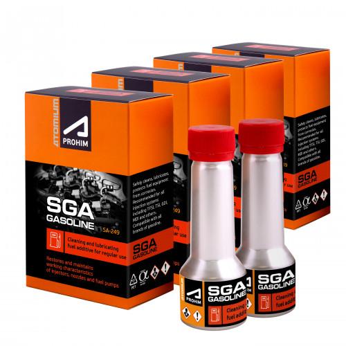 AtomiumA-prohim™ SGA Čisticí přísada do paliva pro benzínové motory3+1 zdarma