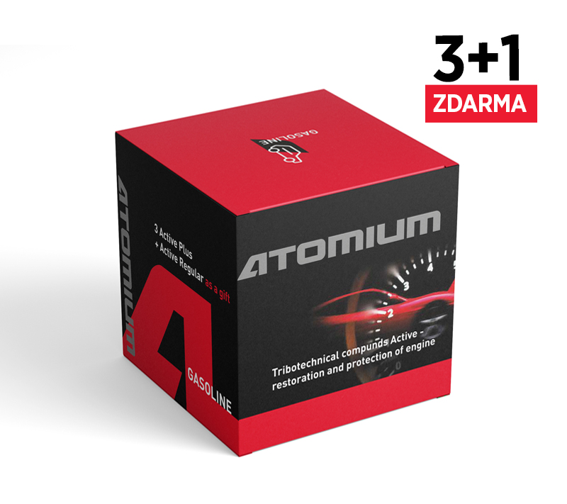 Sada aditiv - Atomium Active Gasoline Plus 3x90 ml + Atomium Active Regular 100 ml