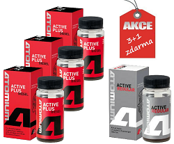 Atomium Active Diesel Plus (3x) + (zdarma) Atomium Active Regular