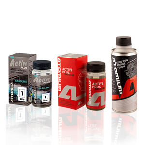 Atomium Active Gasoline 90 ml + Atomium Active Gasoline Plus 90 ml + Atomium proplach motoru 285ml
