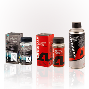 Atomium Active Diesel 90 ml + Atomium Active Diesel Plus 90 ml + Atomium proplach motoru 285ml